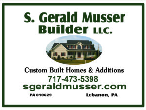 Logo for S. Gerald Musser, Builder